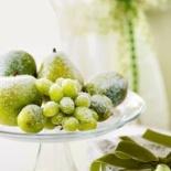 Christmas sugared fruit
